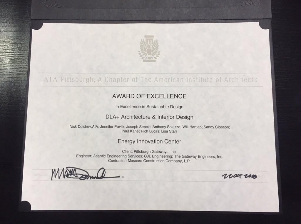 DLA+ Wins AIA Design Pittsburgh Award   DLA+ Architecture & Interior ...