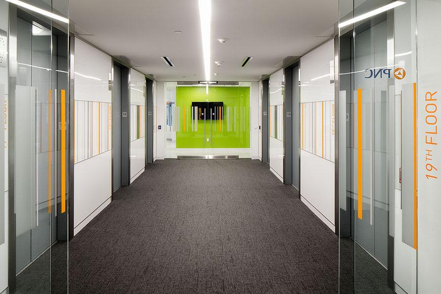 PNC Bank, Two PNC Plaza | DLA+ Architecture & Interior Design